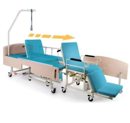 Электрическая функциональная кровать со встроенным креслом-каталкой MET INTEGRA ELECTRO