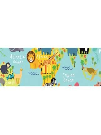 Корзина для игрушек JoyArty Веселая карта 35x35 см