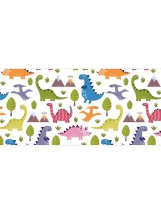 Корзина для игрушек JoyArty Цветные динозавры 40x60 см