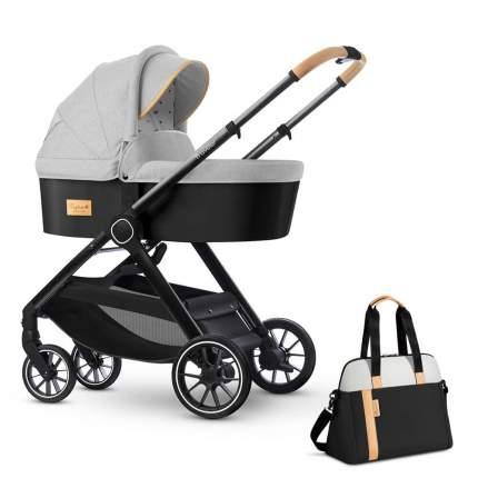 Коляска для новорожденных Esspero Traveler + сумка Grey