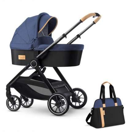 Коляска для новорожденных Esspero Traveler + сумка Denim