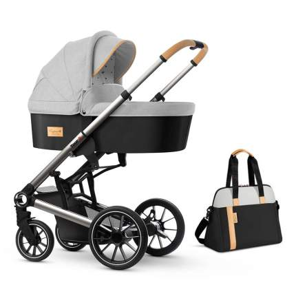Коляска для новорожденных Esspero Tour S + сумка Grey