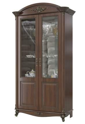 Шкаф 2-х дверный Да Винчи ГД-04 орех, 114х52х230 см.