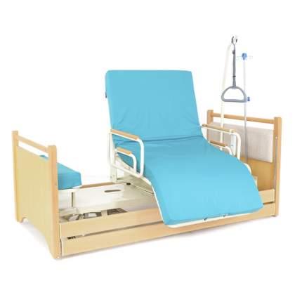 Кровать с ПОВОРОТНЫМ КРЕСЛОМ, для лежачих больных МЕТ RAUND UP