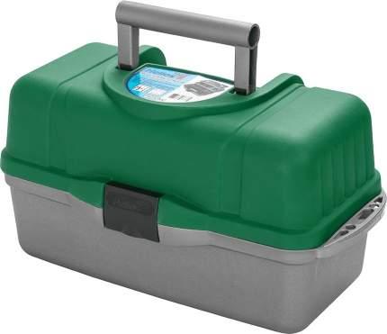 Ящик для инструментов трехполочный зеленый Helios