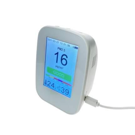 Монитор качества воздуха KKMOON D9-H (CO2, HCHO, TVOC, PM2,5, PM10). Переносной.