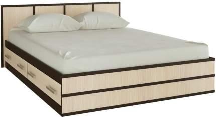 Миф Кровать Сакура с ящиками 160