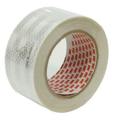 Лента светоотражающая 3M, алмазного типа, белая, 53,5 мм х 10 м, 983-10 53,5MMX10M