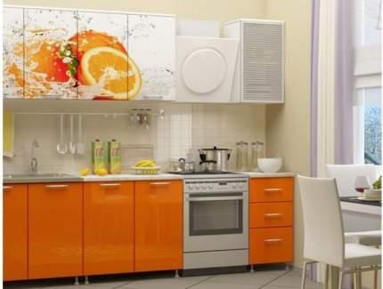 Миф Кухня ЛДСП Фортуна с фотопечатью Апельсин 2000, манго