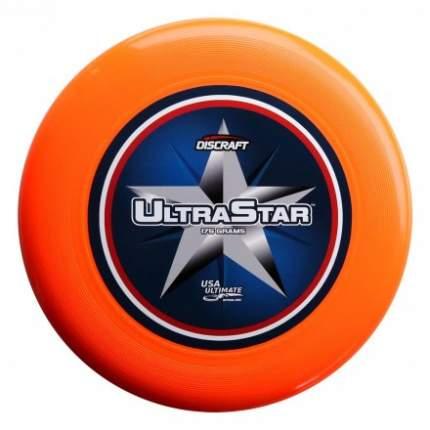 Диск Фрисби Discraft Ultra-Star полноцвет оранжевый 2839