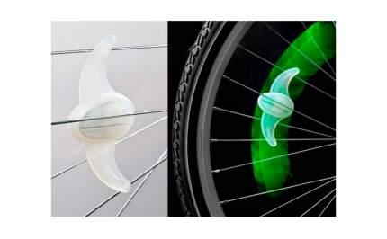 Фонарь велосипедный декоративный на спицы JY-2013, 7 светодиодов