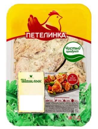 Шашлык куриный Петелинка с чесноком охлажденный ~1,6 кг
