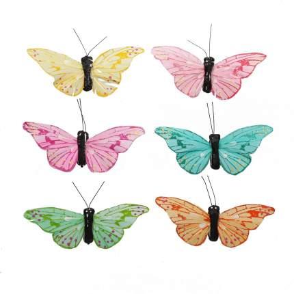 Декоративный предмет AR178 Бабочки 7см, 12шт