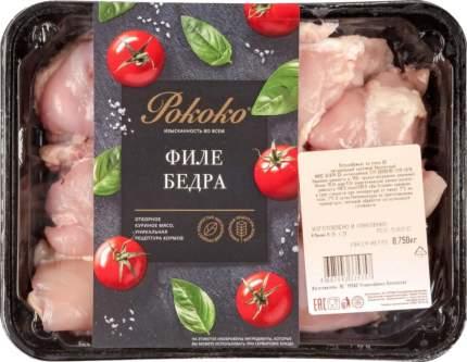 Филе бедра цыпленка Рококо охлажденное 750 г