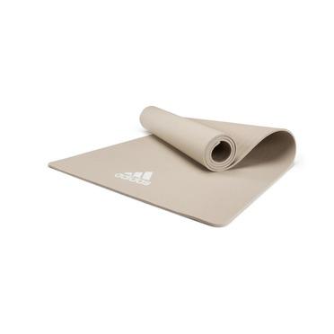 Adidas Тренировочный коврик (мат) для йоги Adidas светло-серый