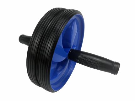 Ролик для пресса одинарный Proxima BD41-A black/blue