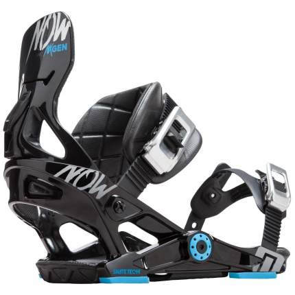 Крепление для сноуборда Now Nx-Gen 2020, черное, S