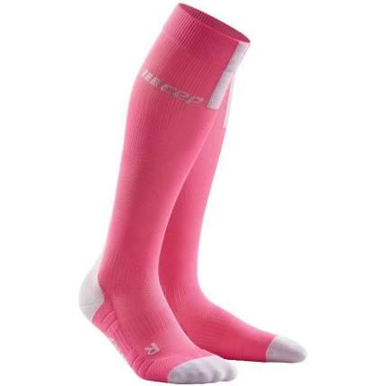 Компрессионные гольфы CEP C123W, розовые, III