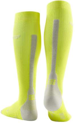 Компрессионные гольфы CEP C123W, зеленые, IV