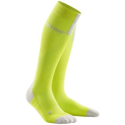 Компрессионные гольфы CEP C123W, зеленые, III