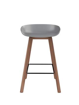 Барный стул Loftyhome Oleander-65 Warm Grey XH-8116H-65-WG