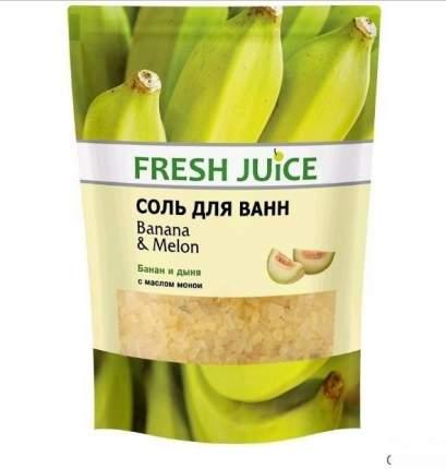 "Соль для ванн Fresh Juice ""Banana & Melon"" 500 г"