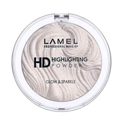 Пудра-хайлайтер HD Lamel, тон 401