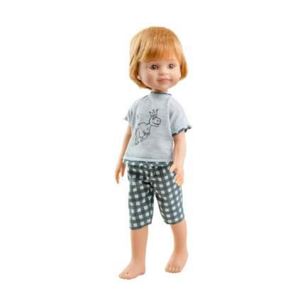 Одежда для кукол Paola Reina Пижама с динозавром для кукол 32 см