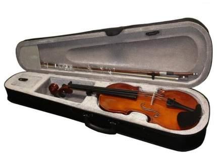 Скрипка в комплекте с подбородником Brahner Bv-300 4/4, футляром, смычком и канифолью