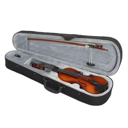 Скрипка в комплекте с подбородником Brahner Bv-300 1/4, футляром, смычком и канифолью
