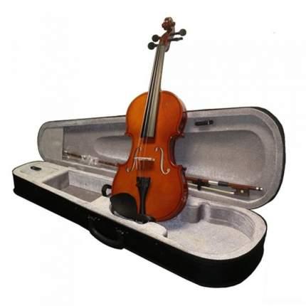 Скрипка в комплекте с подбородником Brahner Bv-300 1/2, футляром, смычком и канифолью