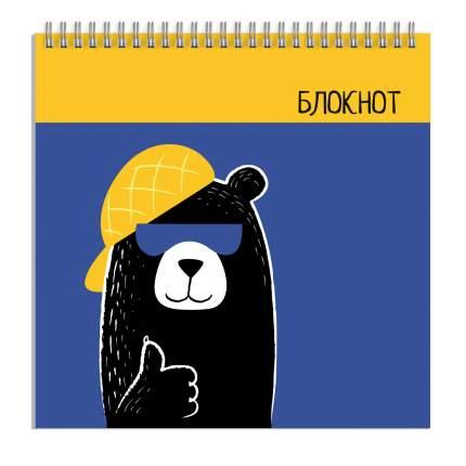 Блокнот арт. 57443 КРУТОЙ МЕДВЕДЬ Феникс+