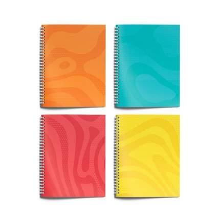 """Тетрадь """"Оденотонные. Текстуры"""", формат А5, 96 листов, клетка, цвет в ассортименте"""