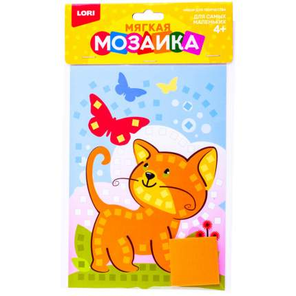 Аппликация Lori из мягкого пластика Котёнок