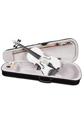 Белая скрипка Antonio Lavazza Vl-20/wh 1/4 , кейс,  смычок и канифоль в комплекте
