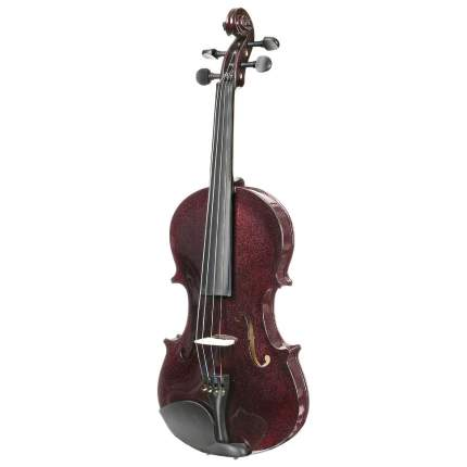 Вишнёвая скрипка Antonio Lavazza Vl-20/drw 1/4 , кейс,  смычок и канифоль в комплекте
