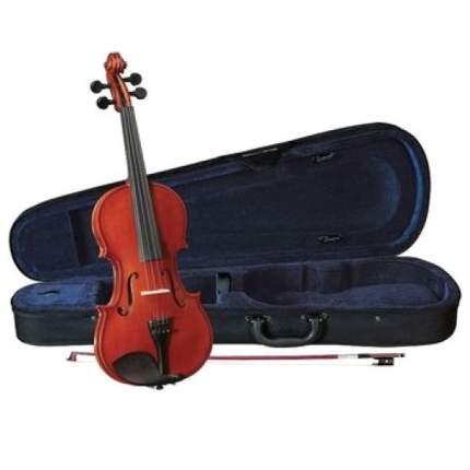 Скрипка в комплекте Cremona Hv-150 Novice Violin Outfit 1/4, легкий кофр, смычок, канифоль