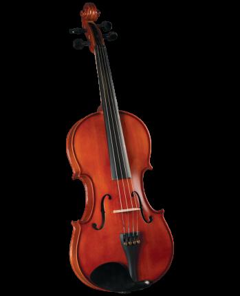 Скрипка в комплекте Cervini Hv-150 Novice Violin Outfit 4/4, легкий кофр, смычок, канифоль