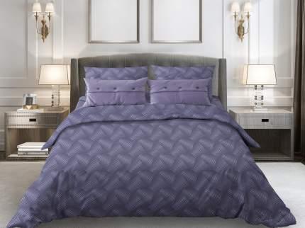 Комплект постельного белья 2-спальный Galtex Комфорт Иллюзия сине-фиолетовый