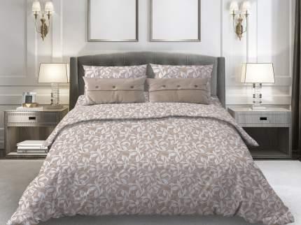 Комплект постельного белья 2-спальный Galtex Комфорт Вьюнок бежевый