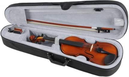 Скрипка в комплекте O.M. Monnich Violin Outfit 1/4 (футляр, смычок, канифоль, подбородник)