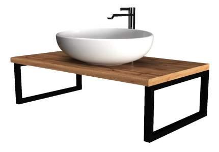 Столешница для ванной 1Marka GRUNGE LOFT 90 Дуб Вотан
