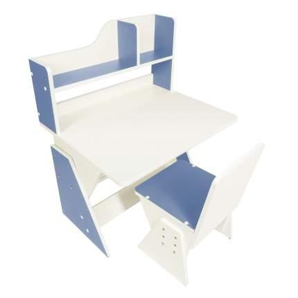 Детская растущая парта и стул Я САМ Классик, цвет Джинс