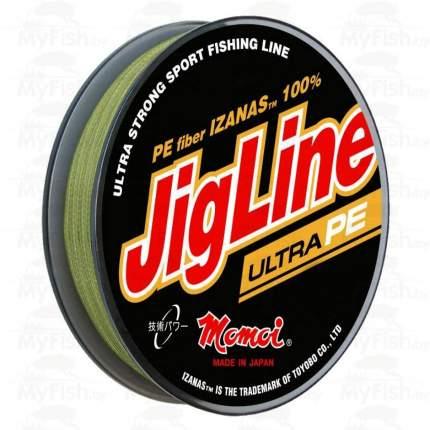 Шнур JigLine Ultra PE 0,12мм 9.0кг 100м хаки