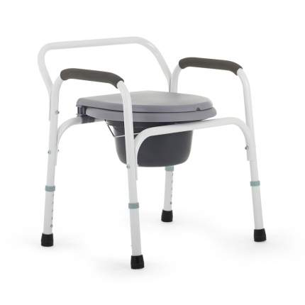 Стул-туалет для пожилых (кресло с санитарным оснащением) Армед ФС810