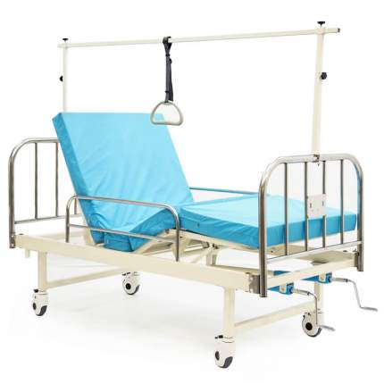 Кровать медицинская механическая c инклинометрической рамой MET NOX