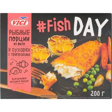 Рыбные порции Vici Fish Day в сухарях замороженные 200 г