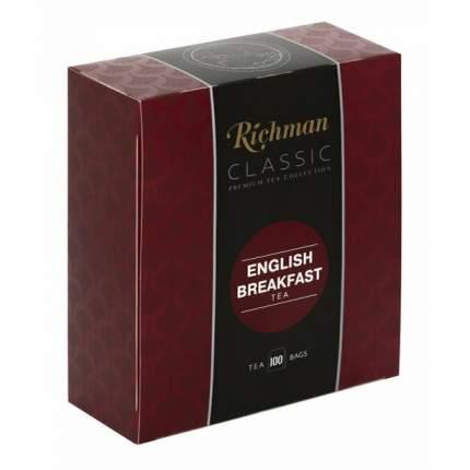 Чай черный Richman Classic English Breakfast в пакетиках 2 г х 100 шт