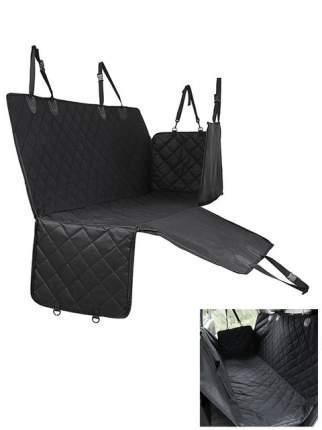 Авто-гамак для домашних животных большой STEFAN, черный, 137х147см, CSC-905