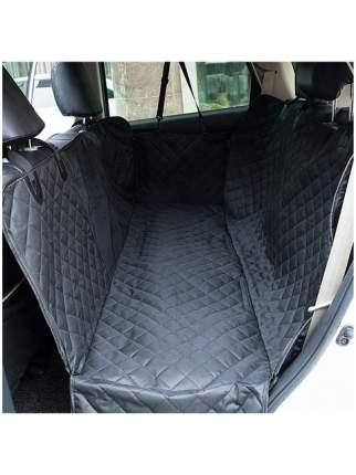 Авто-гамак для домашних животных большой STEFAN, черный 137*147 см